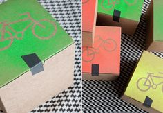 bicycle invite boxes