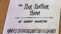 HOMENAJE en Pink Panther Cartoon Henry Mancini, Panther, Math Equations, Pink, Musica, Soundtrack, Panthers, Pink Hair, Roses