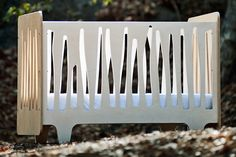 The Funky Forest Crib from Numi Numi Design is fresh and funky! #crib #nontraditional