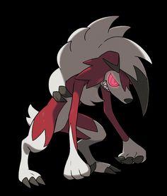 Lycanroc - Midnight form (one of Rockruff's evolutions)