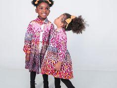 Boutique en ligne - Vêtements filles en wax de 2 à 12 ans
