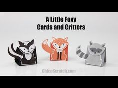 Cards and Critters Punch Animals | Chic n Scratch