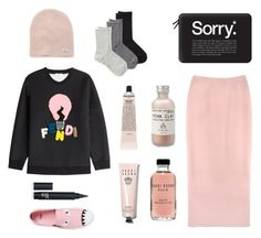 """""""Why did Adele cross the road ? To say hello from the other side."""" by jessicaadler on Polyvore featuring mode, Neff, Casetify, Fendi, Rochas, Grown Alchemist, Bobbi Brown Cosmetics, Herbivore Botanicals, Calvin Klein et women's clothing"""
