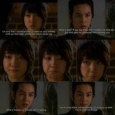 Jang keun suk and park shin hye in YOu're beautiful as hwang tae kyung and go mi nam. Kdrama Korea