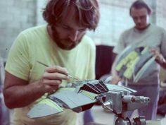 Kampfstern Galactica, Battlestar Galactica, Behind The Scenes, Modeling, Miniature, Military, Studio, Toys, Building