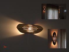 Bamboo Lamps, Wall Lights, Lighting, Interior, Design, Home Decor, Molde, Ideas, Craft