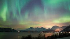 Northern lights over Tromsø, Norway - Foto: Kjetil Skogli