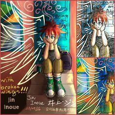 Original Link: https://inouejin.tumblr.com/post/150606307857/boredom-being-angel-with-broken-wings-t%C3%A9dio Boredom…. Being angel with broken wings!!! (Tédio… Um anjo com asas quebradas!!!) 退屈…壊れた翼を持つ天使。 #mangá #manga #drawing #desenho #ilustration...
