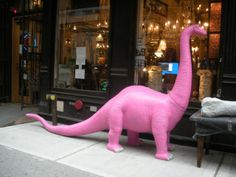 New York City Safari - Hot Pink Animals