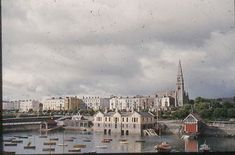 Dun Laoghaire 1952 | MajorCalloway | Flickr Photo Engraving, Dublin City, Old Photos, My Dream, Paris Skyline, Past, Explore, Travel, Paintings