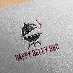The logos so simple clean neat organized in hierarchy. Typo Logo, Logo Branding, Branding Design, Logo Design, Bbq Brands, Grill Logo, Buns Of Steel, Paper Logo, Food Vans