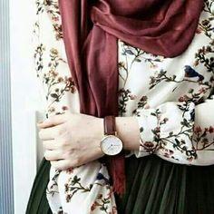 Hijab jup Islamic Fashion, Muslim Fashion, Modest Fashion, Fashion Dresses, Casual Hijab Outfit, Hijab Dress, Hijab Style, Hijab Chic, Modest Dresses