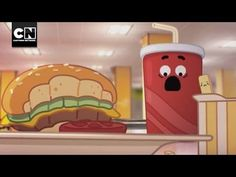 Lunchroom Warfare | The Amazing World of Gumball | SO Hilarious!