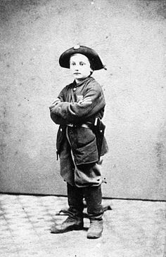 Civil war soldier at 11 years of age.
