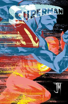 Superman #36 variant cover - The Flash by Francis Manapul