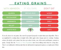 A guide to eating grains