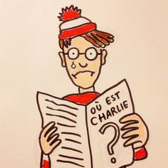 Tiffany Cooper a repris le personnage de Charlie (Martin Hanford) en hommage à Charlie Hebdo, image publiée sur son compte Instagram ...réépinglé par Maurie Daboux #jesuischarlie #CharlieHebdo
