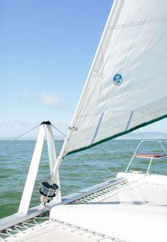Sailing at Cape Town