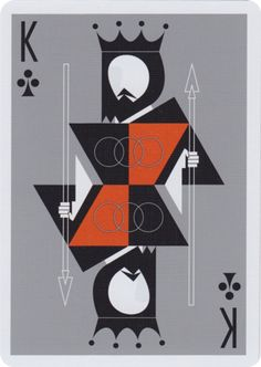 Bring a new level of class to your game with The Retro Deck by Pocono Modern. A bold deck of cards inspired by the simplicity and elegance of timeless Mid Century Modern design. Designed by Joe Morell