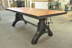 Copper top Hure Crank Table 2