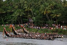 Indian festivals don't get much better than the Onam festival.Join Authentic India Tours on the Onam festival tour and enjoy a wonderful Kerala tour. Onam Festival, Kerala Travel, Kerala Tourism, Fairs And Festivals, Indian Festivals, Tiger Dance, Onam Celebration, Kerala Backwaters, Fiestas