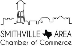 """Smithville Area Chamber of Commerce's new logo. Created by FranLan Multimedia to show people immediately that we are the chamber in Texas. A nod to """"Hope Floats"""" and the sign coming into town. Smithville Texas, Hope Floats, Chamber Of Commerce, Great Places, Project 3, Multimedia, Events, Sign, Spaces"""