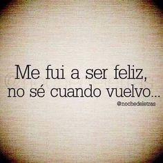 Felicidad !!