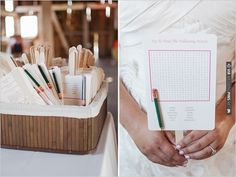 wedding cross word programs | VIA #WEDDINGPINS.NET