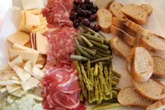 all the things: Our Weekend... meat and cheese