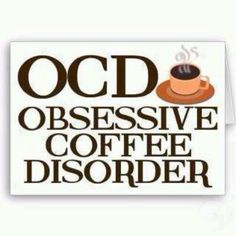 Obsessive Coffee Disorder present. Do not speak to me before I have had my morning coffee. I am completely addicted to caffeine. I am OCD for coffee. A great coffee humor gift. Book And Coffee, Coffee Talk, Coffee Is Life, I Love Coffee, Coffee Break, Coffee Lovers, Morning Coffee, Morning Breakfast, Coffee Quotes