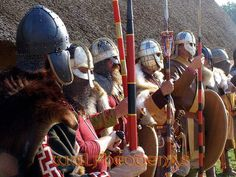 Wulfheodenas, 6-7th century Anglo-Saxon reenactors. Their Facebook page has far more information and pictures.