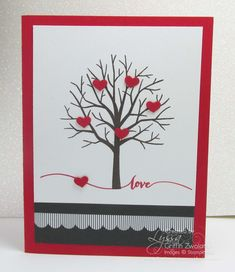 Still looking for a Valentine? Here's three easy ideas from Lyssa at Song of My Heart Stampers. Learn how to take everyday crafting supplies and turn your projects into little works of art. Free weekly newsletter subscription and 100% free tutorial gallery!