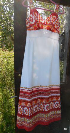 Vintage 1960's Sundress by Diamond Head Sportswear by LotsaVintage, $65.00