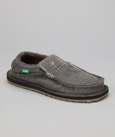 Take a look at this Taupe Kyoto Chill Slip-On Shoe - Men by Sanuk on #zulily today!