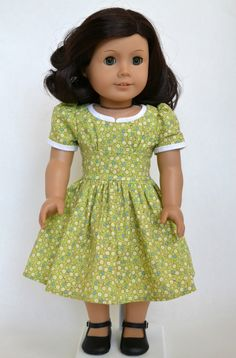 American Girl 18 Inch Doll 1950s Dress  by JennyWrensDressShop, $50.00