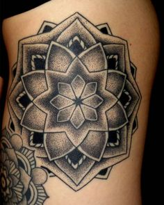 #mandalatattoo #tattoo #tattoos #mandalatattoo #dotwork #dot#dotworktattoo by x.p.electron