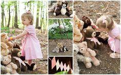 Girls Teddy Bear Picnic 2nd Birthday Party