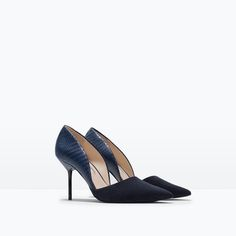 ZARA - SHOES & BAGS - ASYMMETRIC COURT SHOE