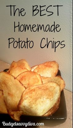 Gluten - Free. Done in 15 minutes. These are the BEST chips I have ever had!