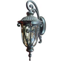 "Yosemite Home Decor Viviana Collection 3-Light Oil Rubbed Bronze Outdoor Wall-Mount Lamp  $158 - 27"" front door"