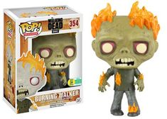 SDCC 2016 Exclusive - Pop! Television: The Walking Dead - Burning Walker