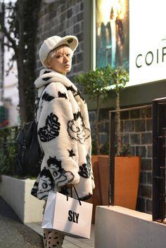 Betty Boop coat.