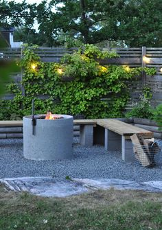 Dream Garden, Home And Garden, Outdoor Fireplace Designs, Corner Garden, Weekend House, Backyard Retreat, Outdoor Living, Outdoor Decor, Pergola Designs