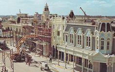 Main Street, U.S.A. / WDW construction (Magic Kingdom Construction Cavalcade 1969 - 1981    The Explorium)