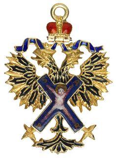 Order of Saint Andrew - Miniature Badge