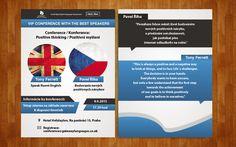 Grafická návrh letáku pre Gateway School of Languages (United Kingdom)