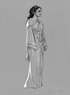 Padme -Tatooine midriff by jasonpal on DeviantArt Amidala Star Wars, Star Wars Padme, Queen Amidala, Star Wars Jokes, Star Wars Facts, Star Wars Rebels, Star Wars Episode 2, Star Wars Drawings, Star Wars Personajes
