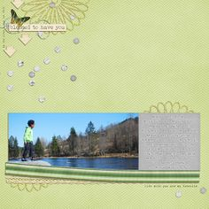 Layout by Anne using Blessed which is included in The Digi Files during March, 2014
