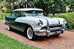1956 Pontiac Chieftain 2 Door Hardtop