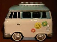 Cool VW Hippie Volks Wagon Cookie Jar